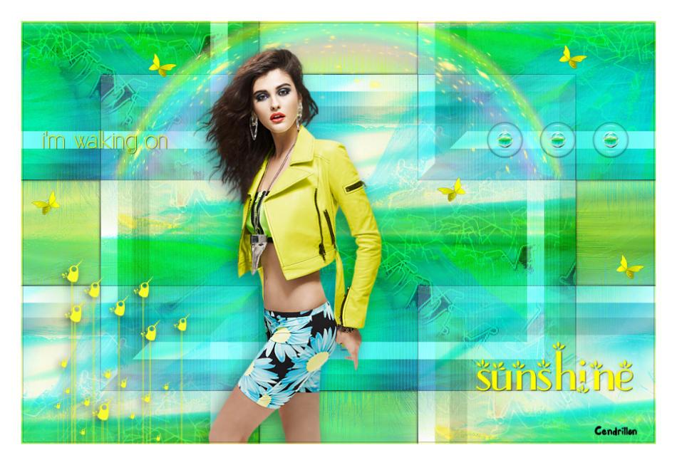 Walking on sunshine - Benice Design - Traduction Sylvie