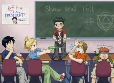 Pas très disipliné la classe...