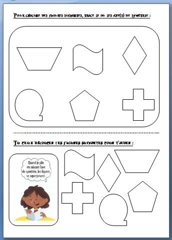 Axes Symetrie Figures Planes Les Bons Plans De Gandalf