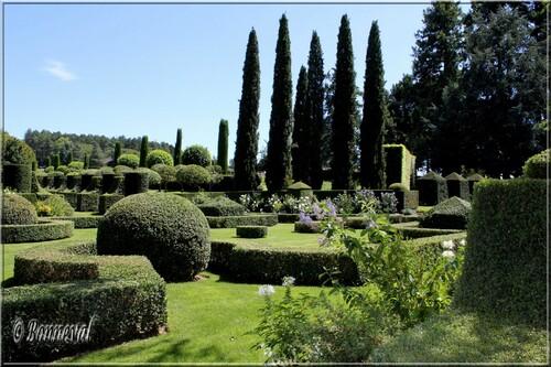 Les Jardins du Manoir d'Eyrignac le Jardin Français