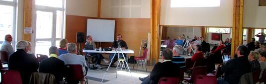 Les Mées Le 15 Avril avec Philippe Richardet et Christian Eyschen