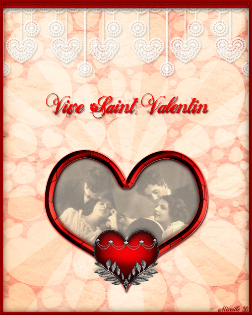 Saint-Valentin style Vintage en Musique