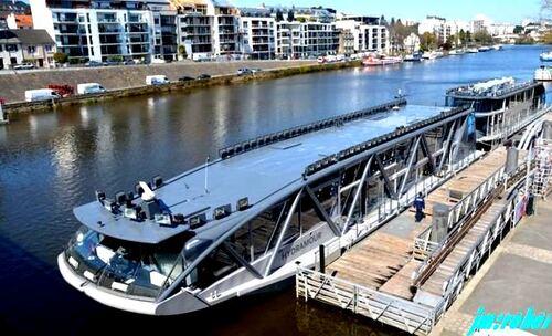 Nantes:Une Croisière idillyque sur l'Erdre le temps d'un long repas