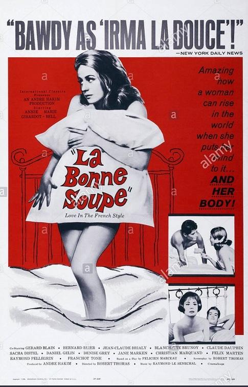 LA BONNE SOUPE BOX OFFICE USA 1964