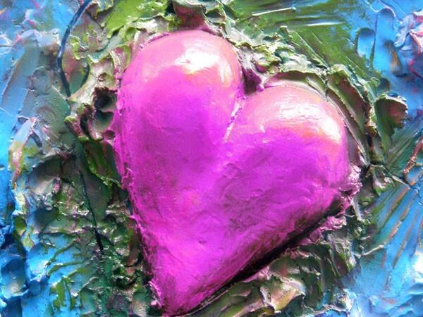 Jim Dine coeur