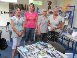 Des bénévoles fidèles à la bibliothèque