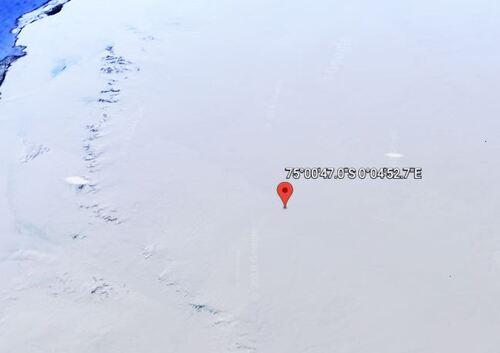 Évènements étranges en Antarctique!