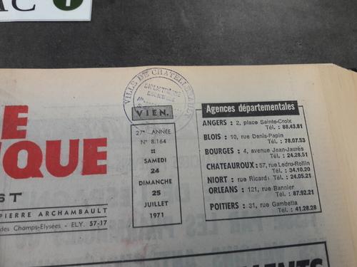 1971 : opération Emmaüs en pays Châtelleraudais