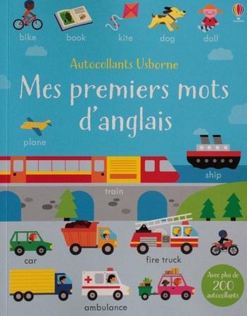 """Autocollants Usborne : Le cyclisme / Mes premiers mots d'anglais """"Jeunesse"""""""