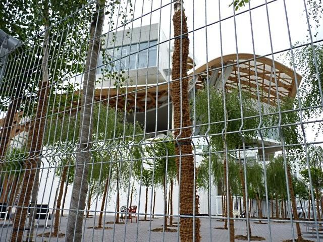 Pompidou Metz pique-nique 7 16 05 10