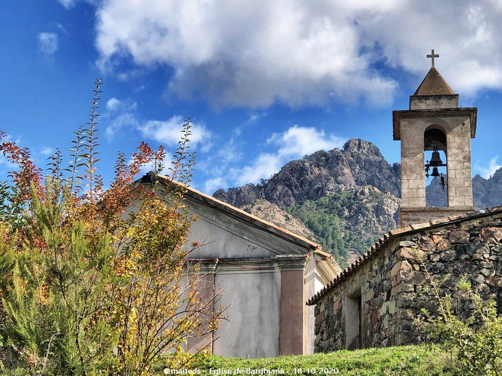 Eglise de Barghjana - Corse
