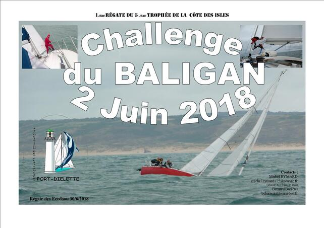 Samedi 2 juin à Dielette : Challenge du BALIGAN