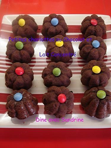 Petites charlottes au Chocolat et Lait concentré 8