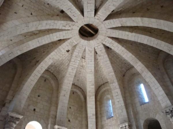 Voûte de la chapelle d'étage du clocher-porche