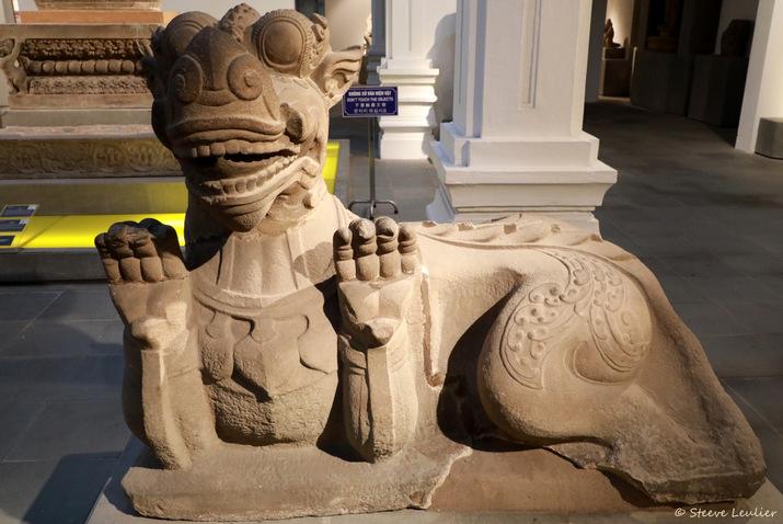 Musée de la sculpture Cham, Makara