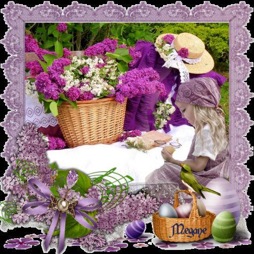 le lilas  c'est le printemps
