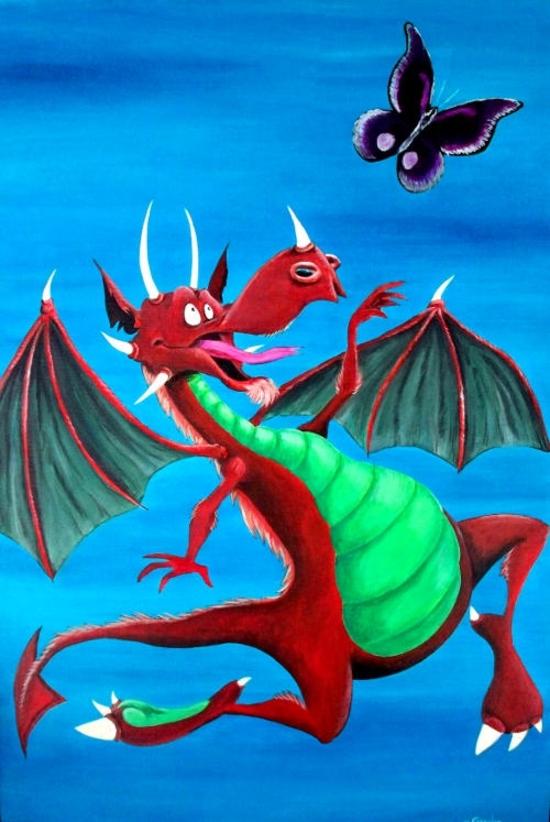 dragonPapillon