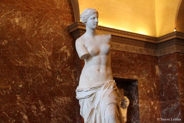 Le Louvre : la Vénus de Milo