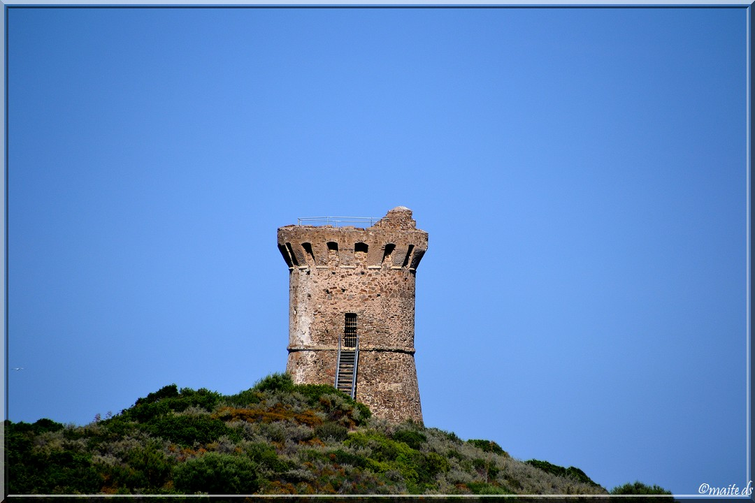 Tour génoise de Fautea - Corse