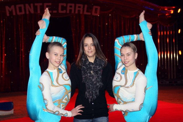 Stéphanie, Pauline et le cirque