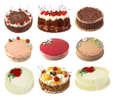 Gateaux  patisseries divers