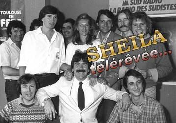 Mai / juin 1981 : Sheila à Sud-Radio