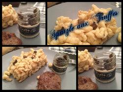 Spatzle aux truffes et partenariat les Saveurs d'Ovalie
