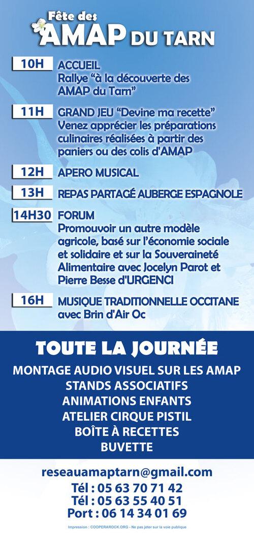 Partage d'info : la fête des AMAP du Tarn,