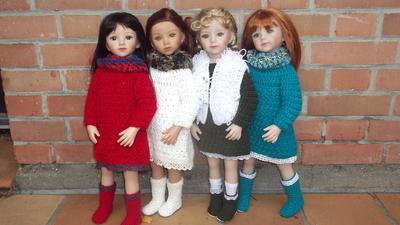 Tuto robe d'automne Maru and friends