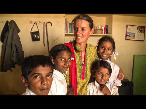 Désert du Thar, l'indienne blanche - YouTube