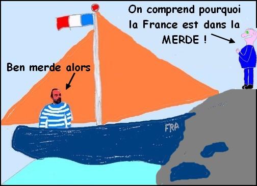 Tiot a trouvé pourquoi la France est dans la merde?