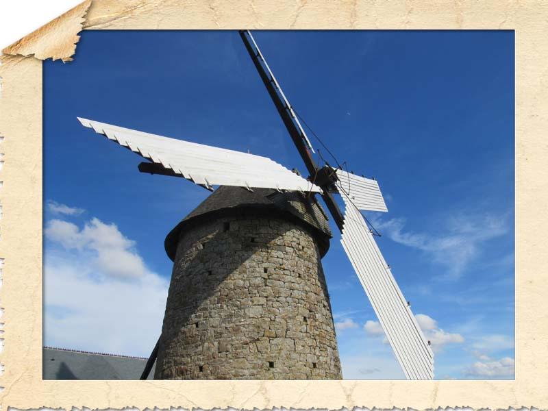 50580 Fierville les Mines moulin à vent du Cotentin