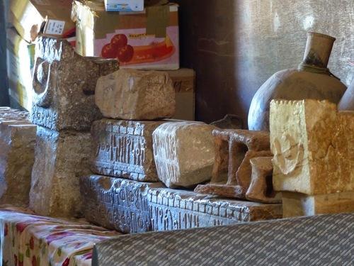 le petit musée qui jouxte le temple