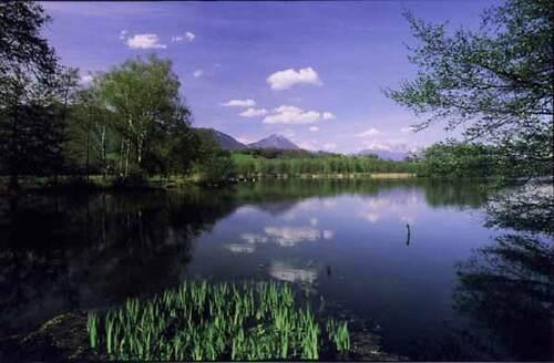 le lac de saint Hélène