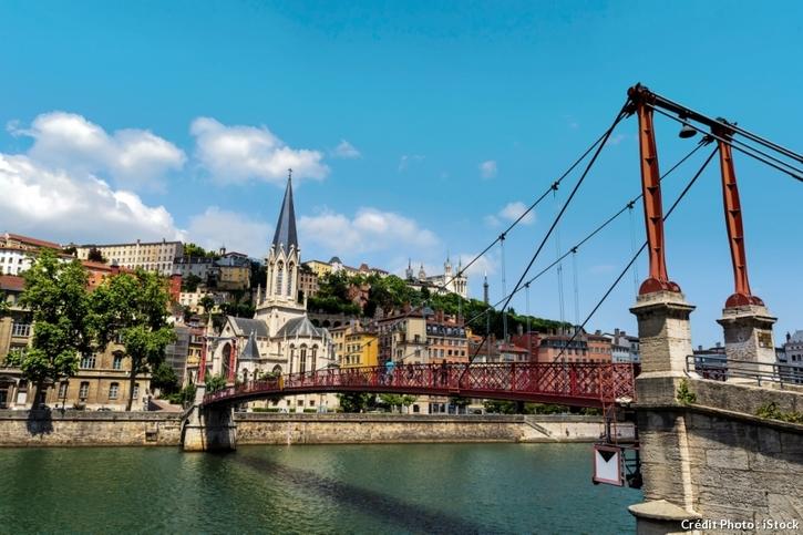La passerelle de Lyon
