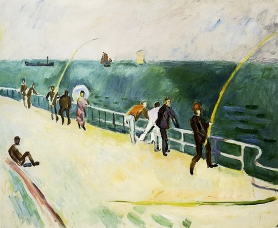 Raoul Dufy, Les pêcheurs