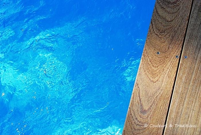 Côté Sud Ouest ....la piscine!