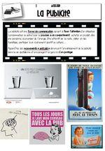 Atelier cinéma - storyboard d'une publicité