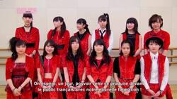 "Morning Musume'15 apparaissent dans l'émission ""Ami Ami Idol Hello! France"""