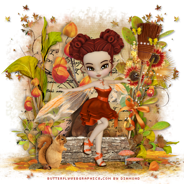 "Tutoriel ""Autumn Breeze"" de Ziscadesign"
