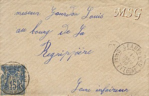 Enveloppe 1896