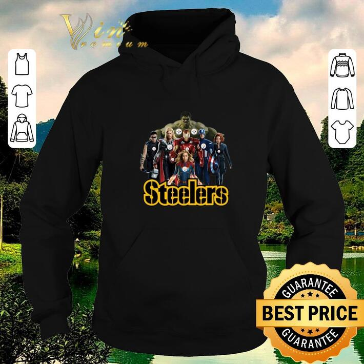 Original Avengers Endgame Pittsburgh Steelers shirt