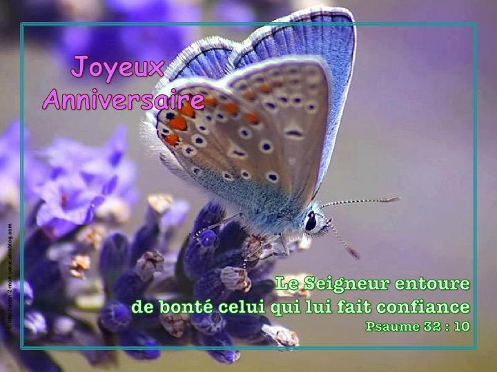 Joyeux Anniversaire - Psaumes 32 : 10
