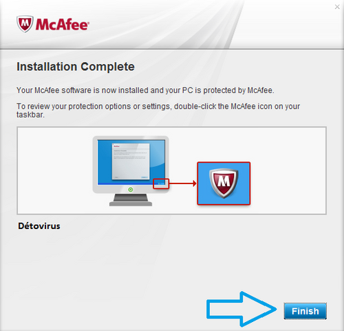 McAfee VirusScan - Licence 90 jours gratuit