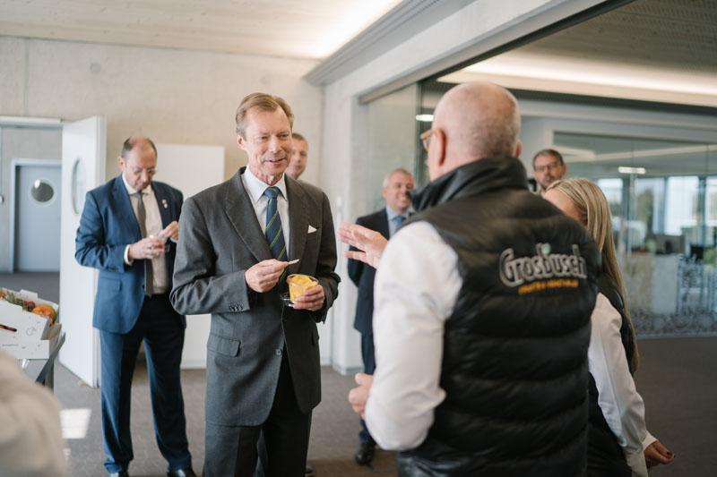 Visite de l'entreprise Grosbusch