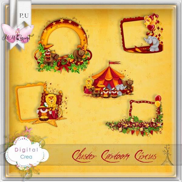 Cartoon circus de MimiConcept