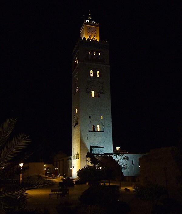 Marrakech 2 / La mosquée de la Koutoubia