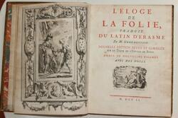 "ERASME et son ""ELOGE DE LA FOLIE"""