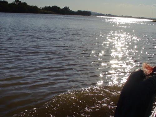 le jour se lève sur le lac Tana