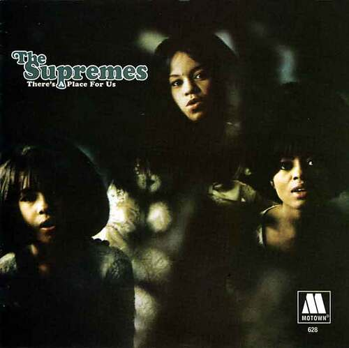 """The Supremes : Album """" There's A Place For Us """" Motown Records MT 628 [ US ] Unissued"""